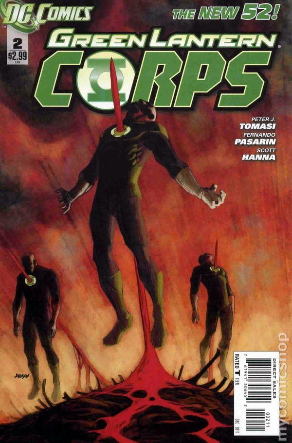 Green Lantern Corps ...