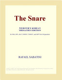 The Snare (Webster's Korean Thesaurus Edition)