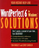 WordPerfect 6 for Wi...