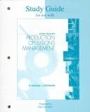 Study Guide for Use with Production Operations Management