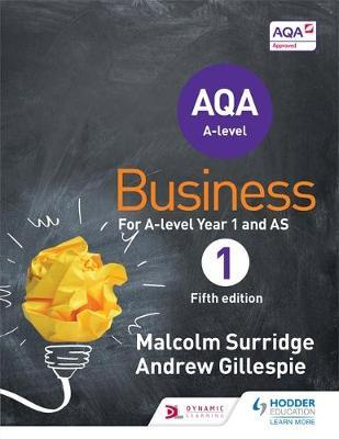 AQA Business for A-level Year 1 and AS