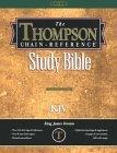 Thompson Chain-Reference Bible King James Version/Handy Size/Red Letter/Black/Deluxe Leather