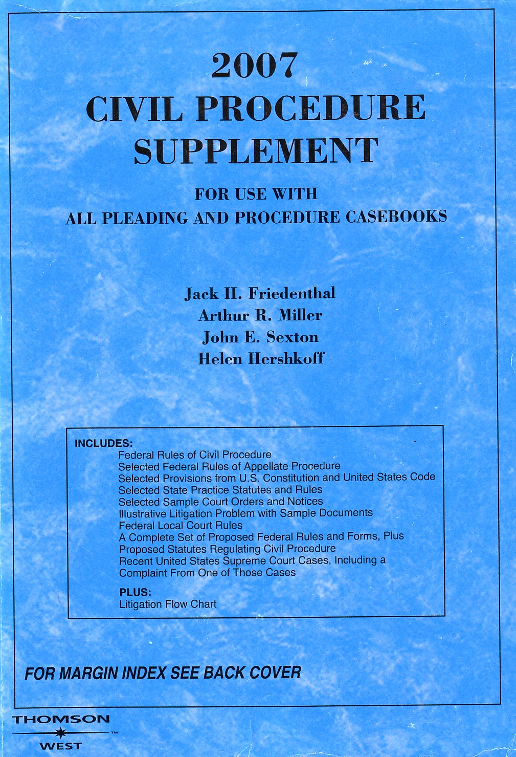 2007 Civil Procedure Supplement