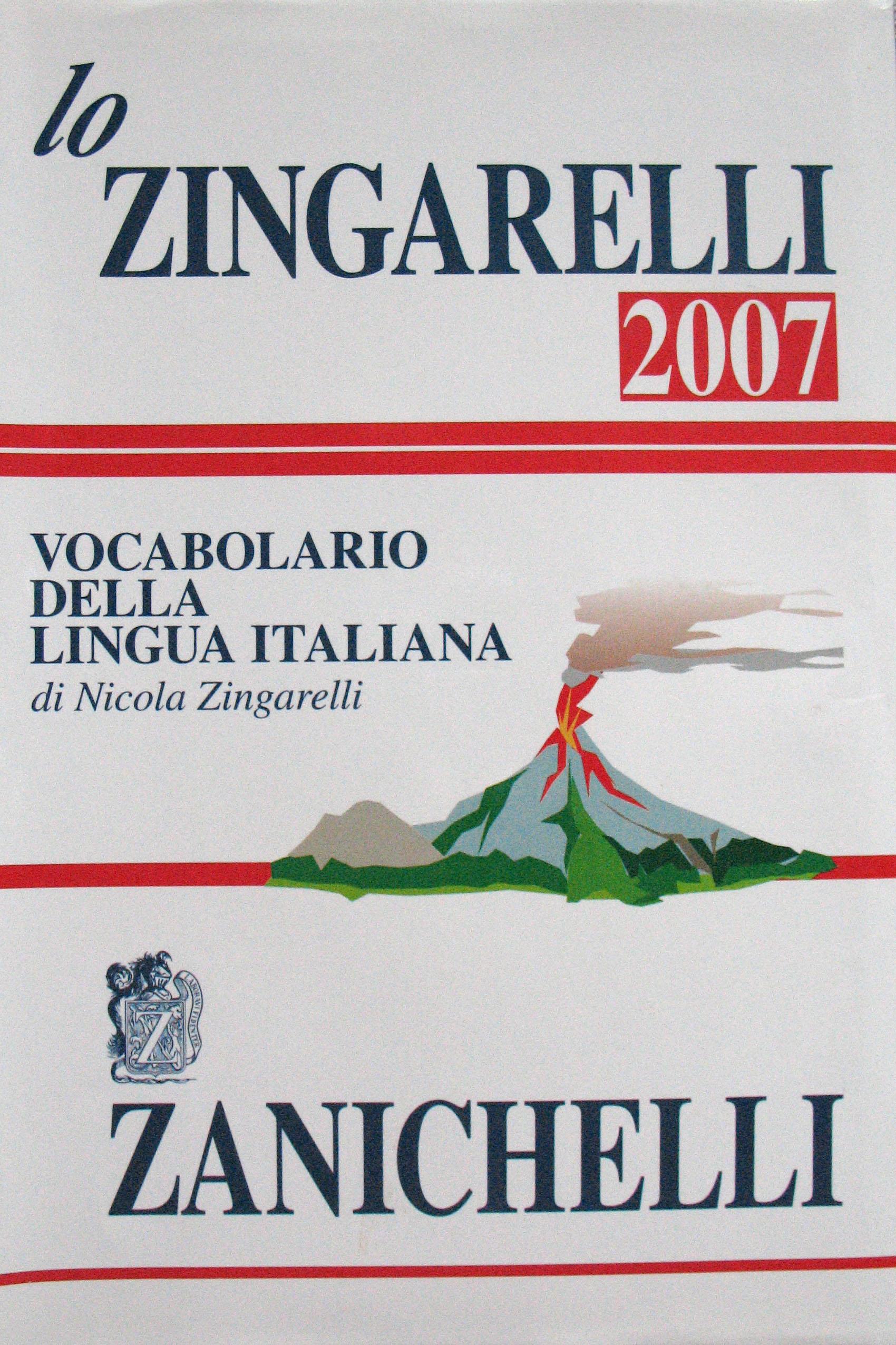 Lo Zingarelli 2007