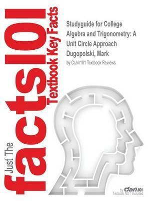 Studyguide for College Algebra and Trigonometry