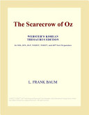 The Scarecrow of Oz (Webster's Korean Thesaurus Edition)