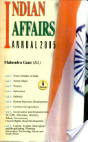 Indian Affairs Annual 2005