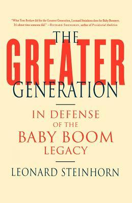 The Greater Generation