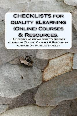 CHECKLISTS for quality eLearning (Online) Courses & Resources