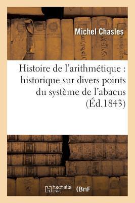 Histoire de l'Arithmetique