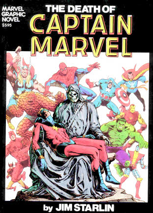 Death of Captain Marvel