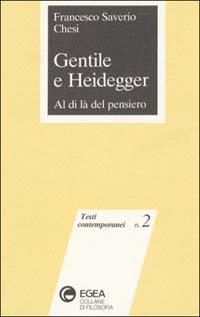 Gentile e Heidegger
