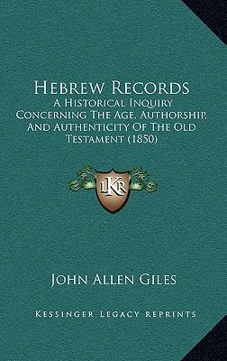 Hebrew Records