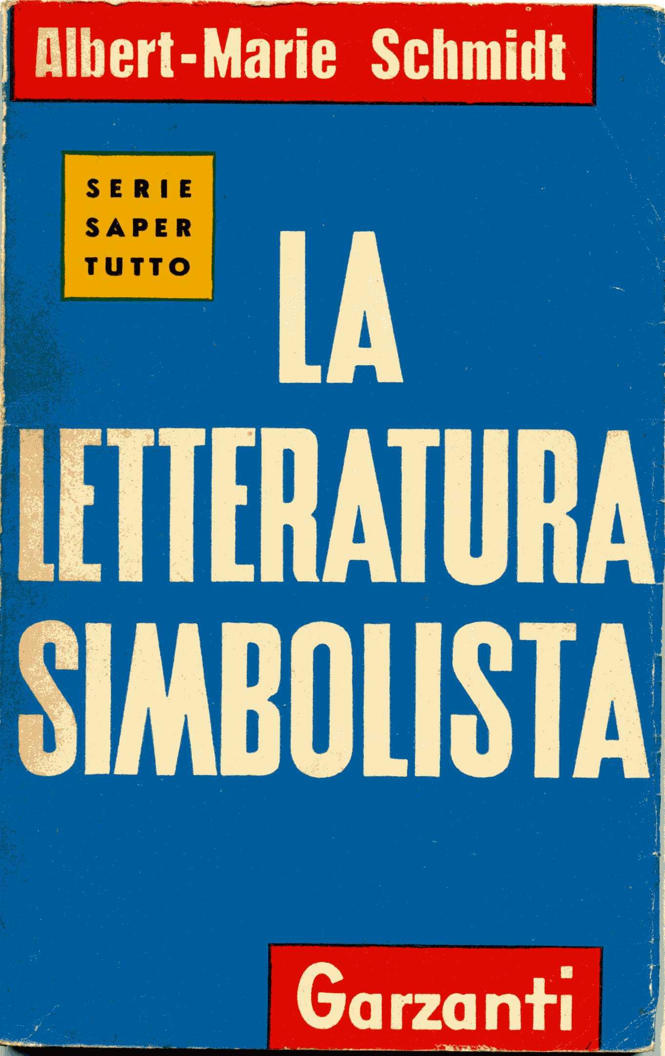 La letteratura simbolista