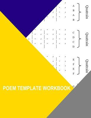 Poem Template Workbook