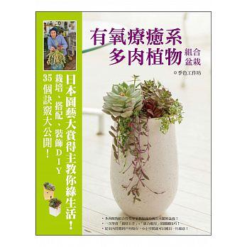 有氧療癒系多肉植物組合盆栽