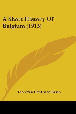 A Short History of Belgium (1915)