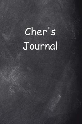 Cher Personalized Name Journal