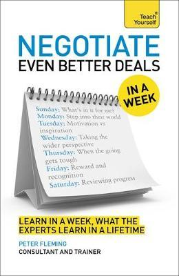 Negotiate Even Better Deals in a Week