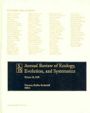 Annual Reviews of Ecology, Evolution and Systematics