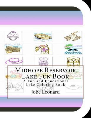 Midhope Reservoir Lake Fun Book Coloring Book