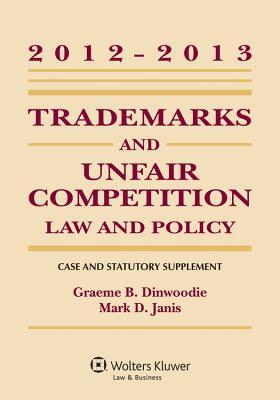 Trademarks and Unfair Competition 2012-2013