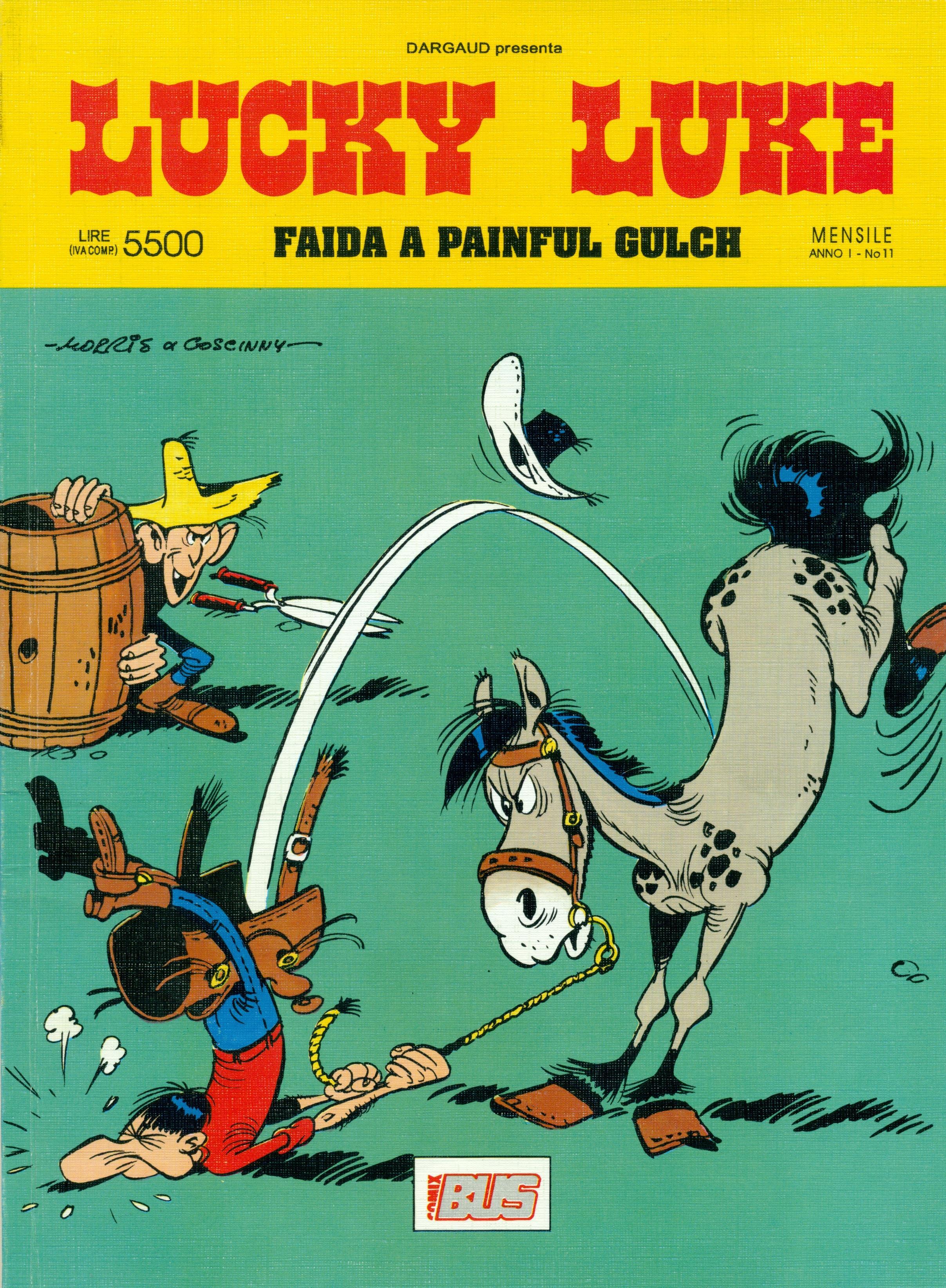 Lucky Luke - Faida a Painful Gulch