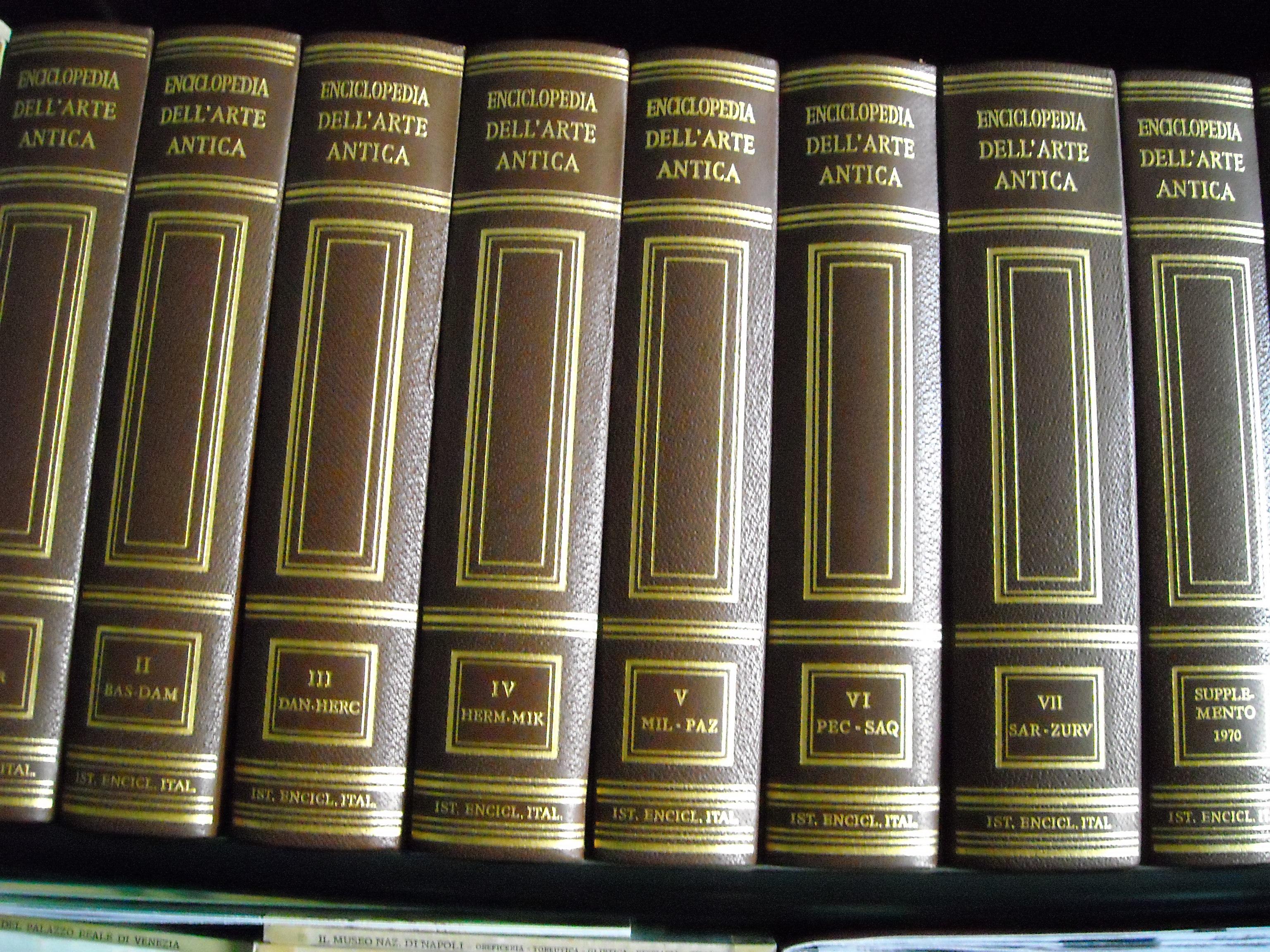 Enciclopedia dell'Arte Antica Vol. V