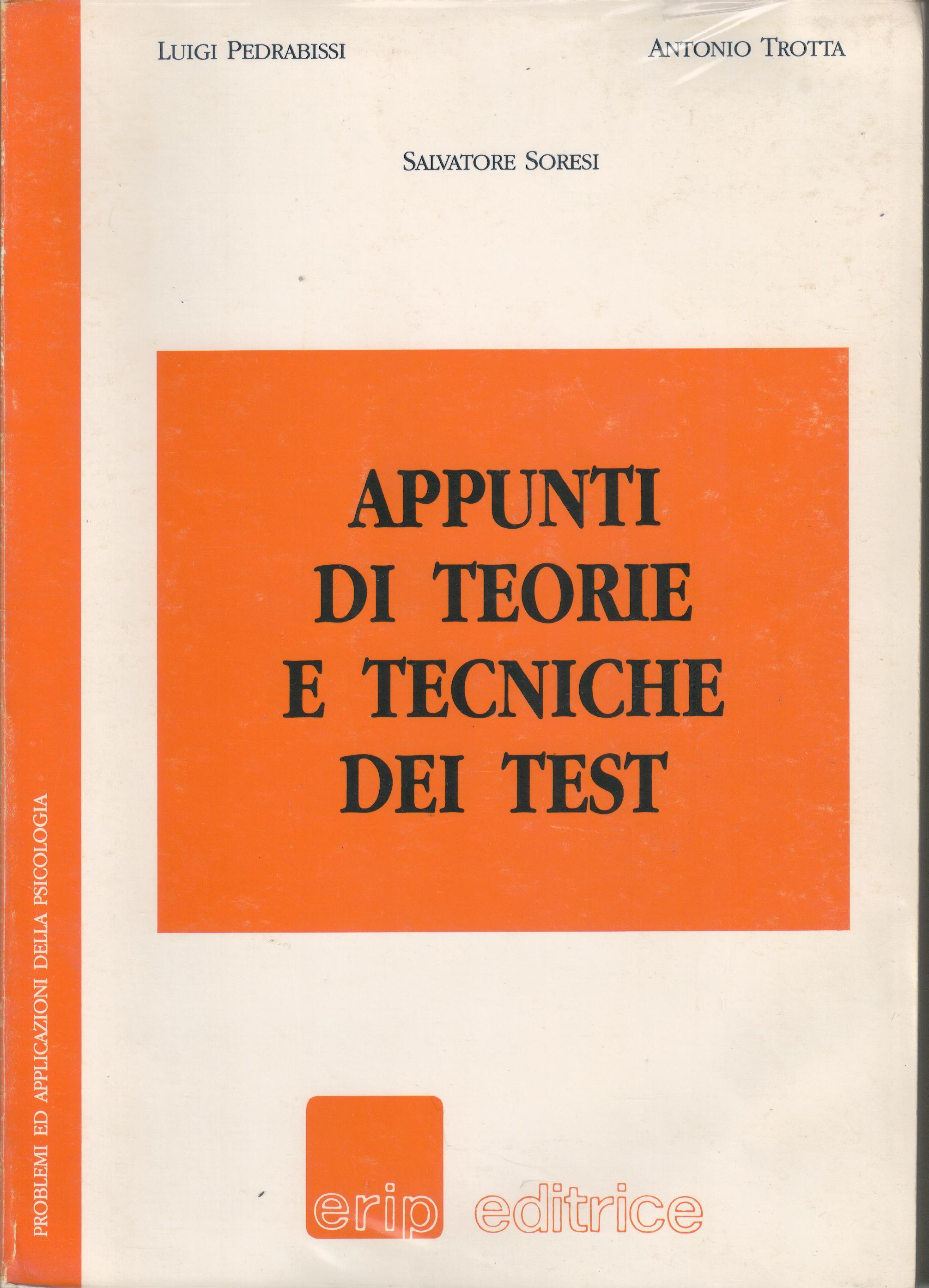 Appunti di teorie di tecniche dei test