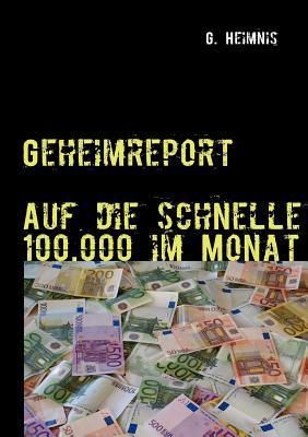 100.000, - In 4 Wochen Verdienen