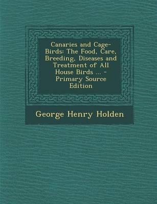 Canaries and Cage-Birds