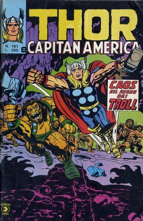 Thor e Capitan America (Il Mitico Thor) n. 181
