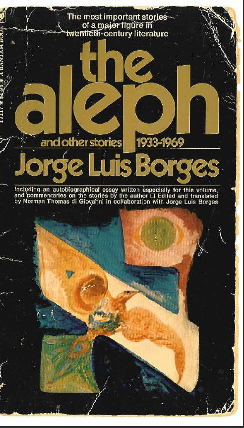 Aleph and Other Stories, 1933-69
