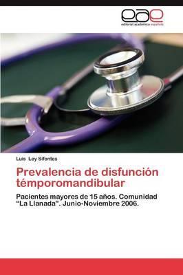 Prevalencia de disfunción témporomandibular