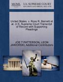United States. V. Ross R. Barnett Et Al. U.S. Supreme Court Transcript of Record with Supporting Pleadings