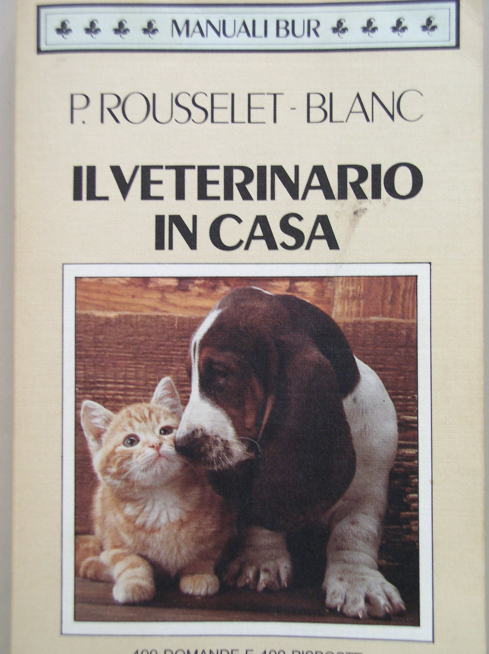 Il veterinario in casa