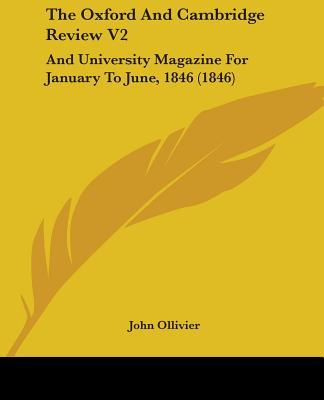 The Oxford and Cambridge Review V2