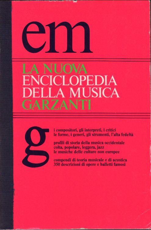 La nuova enciclopedia della musica Garzanti
