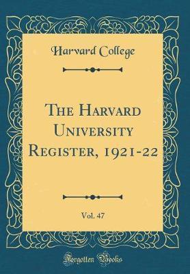 The Harvard Universi...
