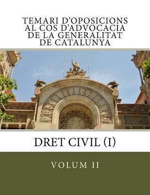 Temari D'oposicions Al Cos D'advocacia De La Generalitat De Catalunya