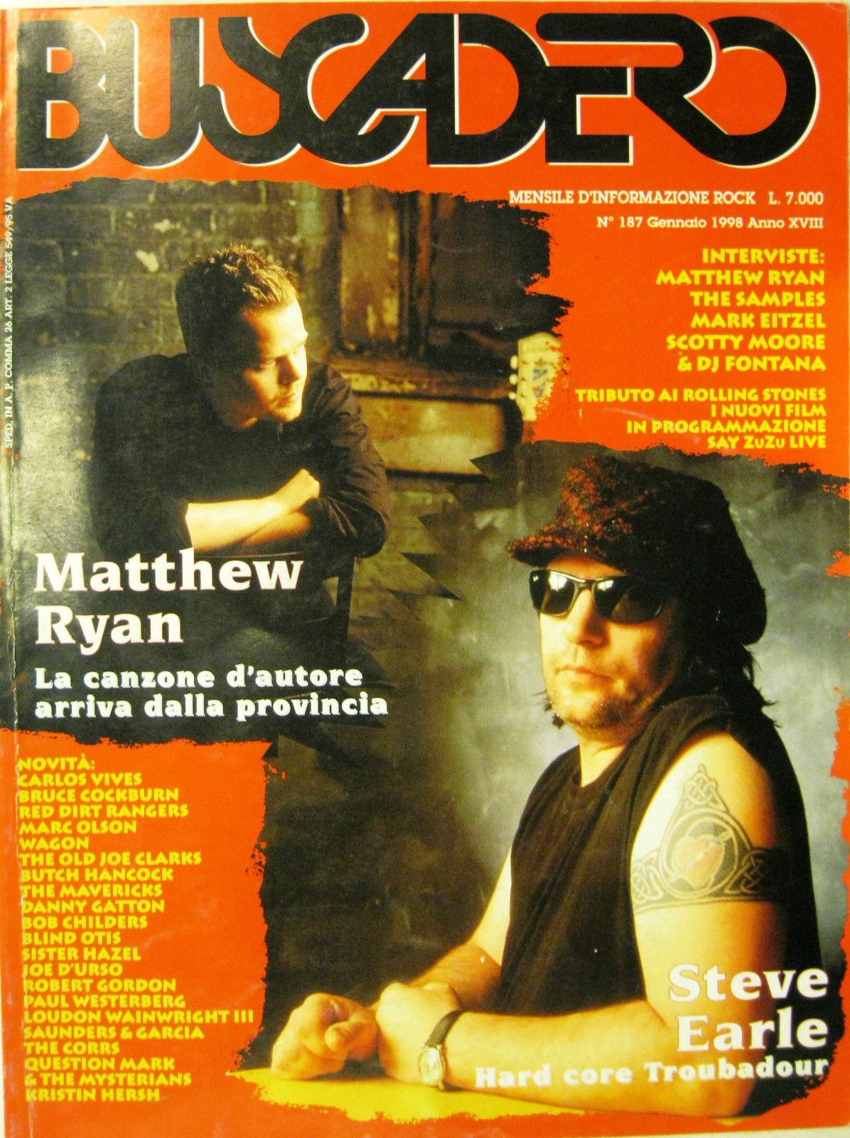 Buscadero n. 187 (gennaio 1998)
