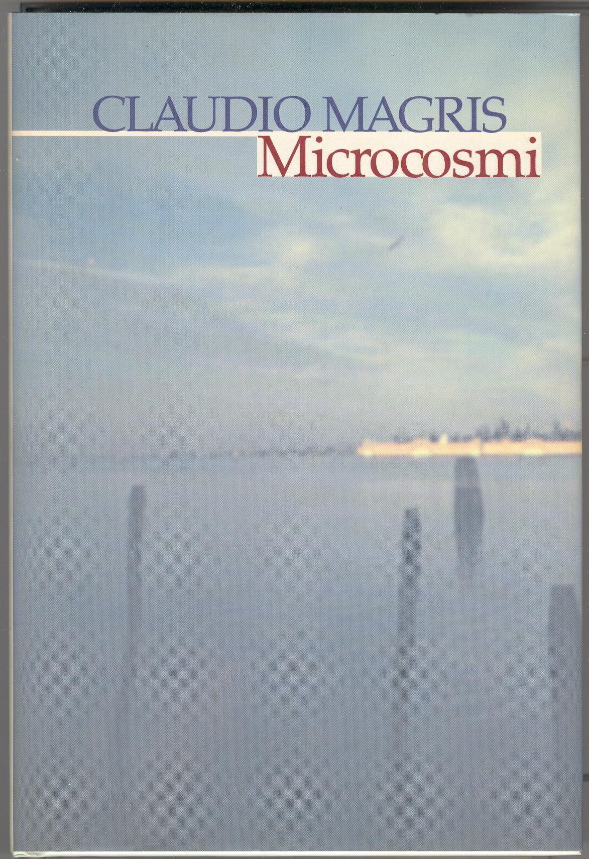 Risultati immagini per copertina di microcosmi di Magris