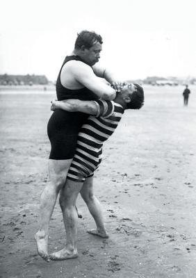 Carnet lutteurs, Deauville, 1913