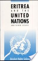 Eritrea and the United Nations and Other Essays