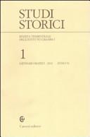 Studi storici (2010). Vol. 1