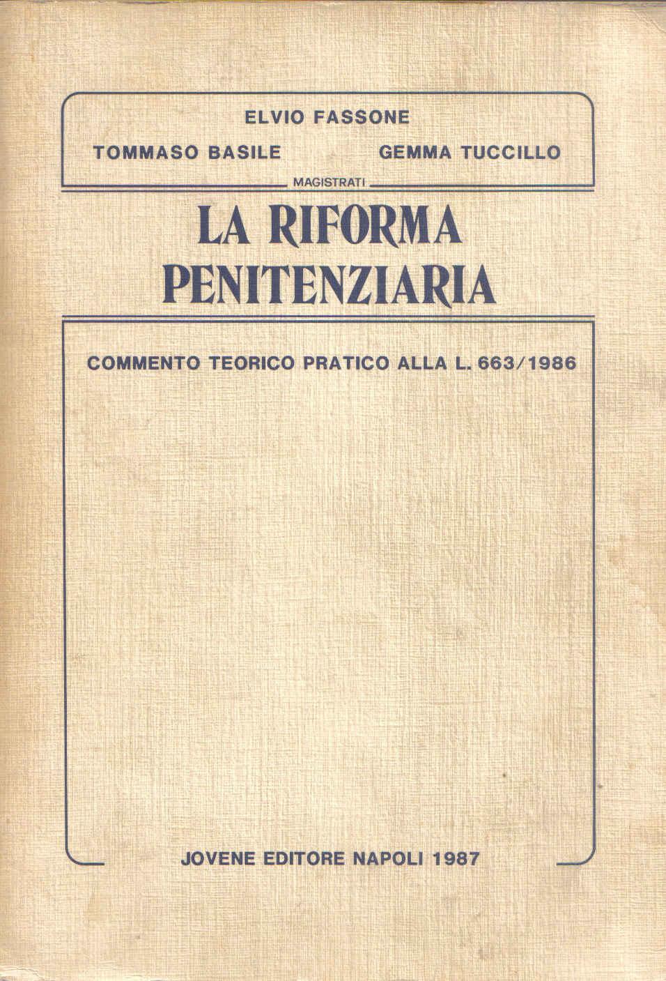 La riforma penitenziaria