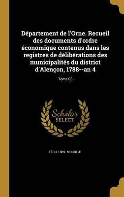 FRE-DEPARTEMENT DE LORNE RECUE