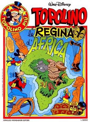 Topolino e la regina d'Africa