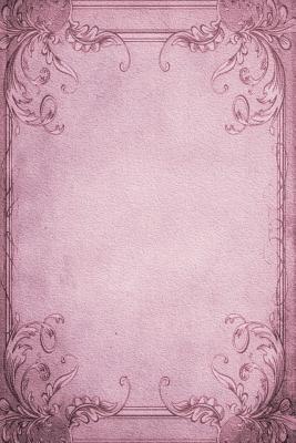 Vintage Paper Purple Frame Journal