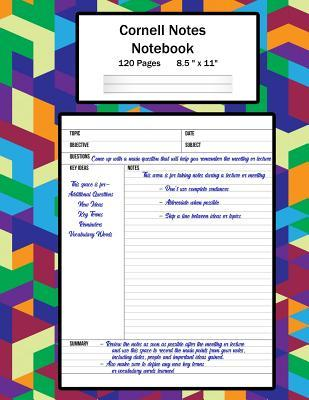 Cornell Notes Notebook